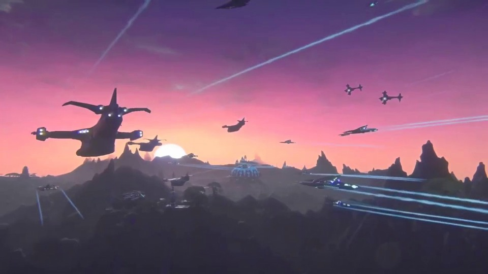 PlanetSide 2 PS4 trailer