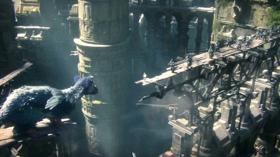 The Last Guardian cinematic