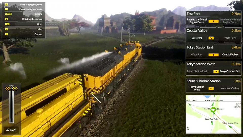 Train Mechanic Simulator 2017 launch trailer