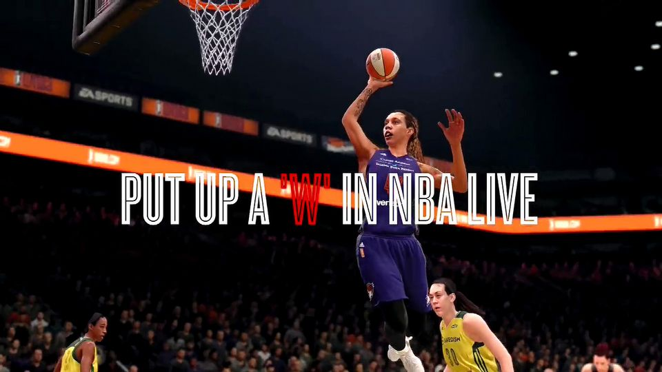 NBA Live 18 The WNBA joins NBA Live