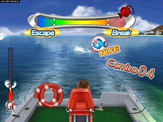 Fishing master world tour wii for Wii fishing games