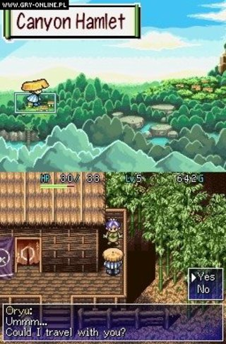 Mystery Dungeon: Shiren the Wanderer - screen - 2008-02-22 - 96299