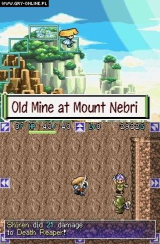 Mystery Dungeon: Shiren the Wanderer - screen - 2008-02-22 - 96301