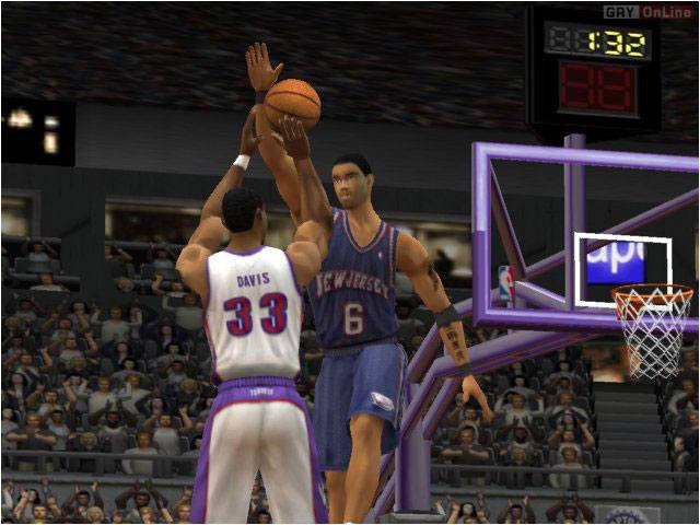 NBA Live 2003 PC Dev Console Fun