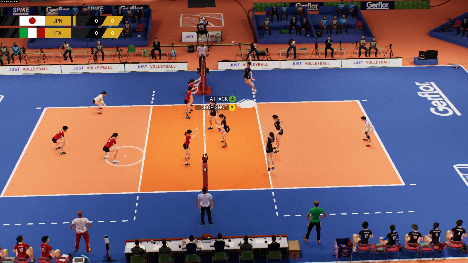 Spike Volleyball PC, PS4, XONE Games Image 3/5, Black Sheep Studio, Bigben Interactive