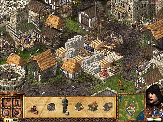 игра где нужно защищать замок управляя арбалетом женщиной
