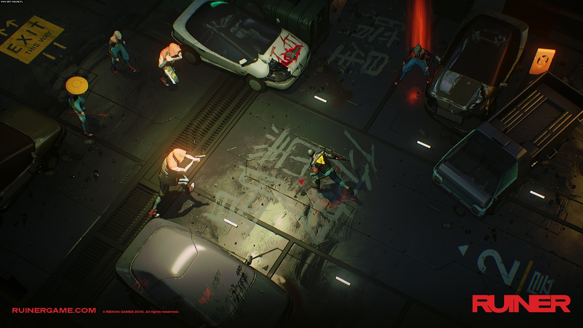 Ruiner PC, PS4, XONE Games Image 12/12, Reikon Games, Devolver Digital