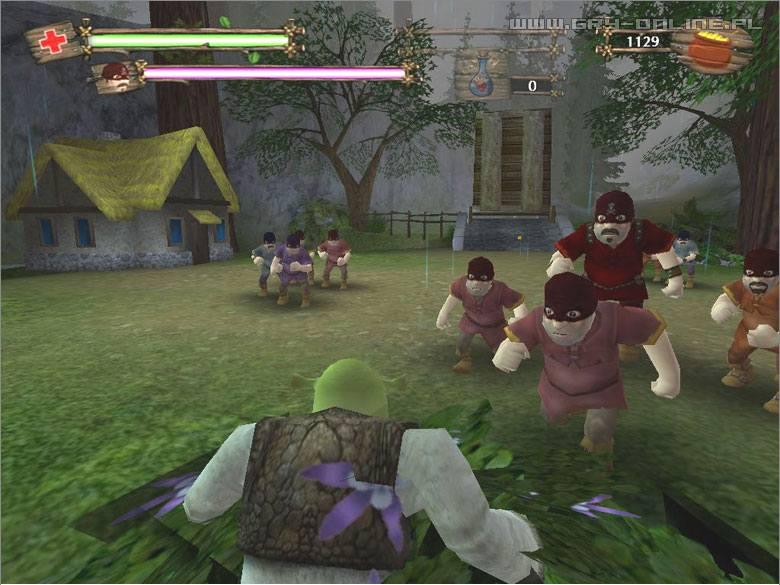 Shrek 2 The Game скачать игру - фото 8