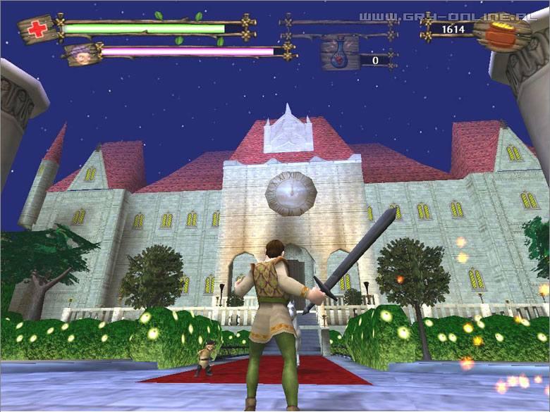Shrek 2: The Game (gra) - screen 16/54, Screeny z gry, zdj�cie z gry w wersji PC, zr�czno�ciowe, Activision Blizzard, Licomp Empirical Multimedia, TPP, filmy animowane, filmy - data publikacji: 2003-12-15 12:54:45 - gry-online.pl
