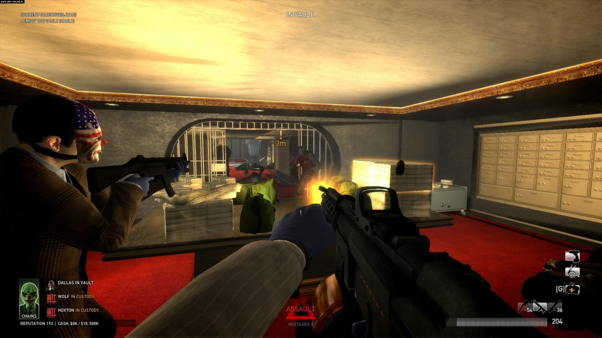 PAYDAY: The Heist (2012) v1.12.2 Update incl DLC-SKIDROW