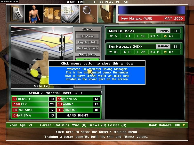Universal Boxing Manager Full Game Download