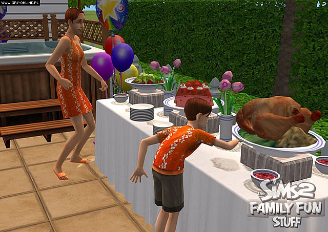 The Sims 2 Family Fun Stuff PC Games Image 7 10 EA Maxis