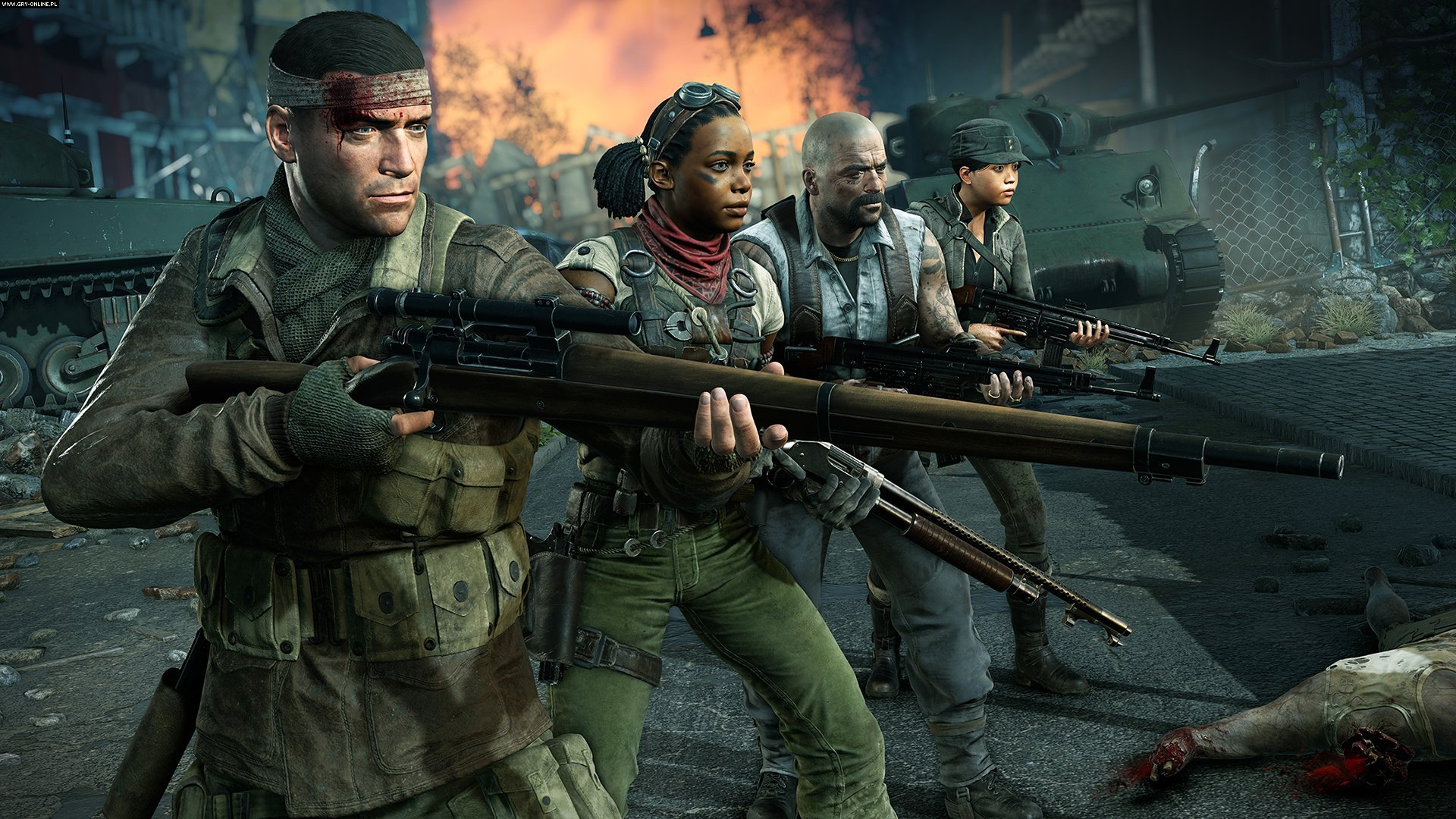 Zombie Army 4: Dead War PC, PS4, XONE Games Image 2/27, Rebellion