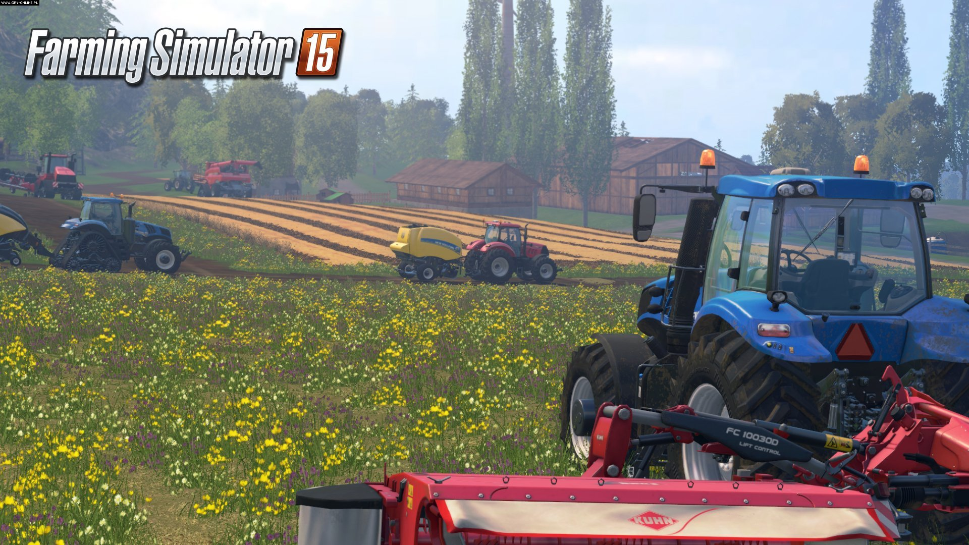 Farming Simulator 15 PC, X360, PS3, XONE, PS4 Games Image 1/14, GIANTS Software, Focus Home Interactive