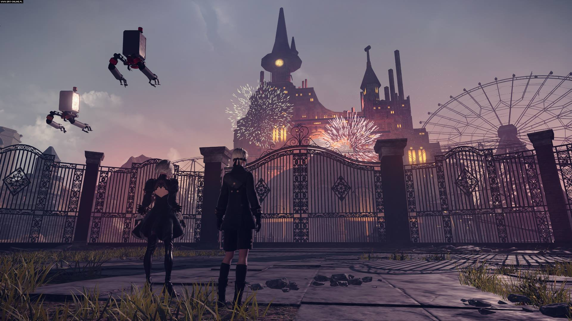 Nier: Automata PC, PS4 Games Image 5/68, PlatinumGames, Square-Enix / Eidos