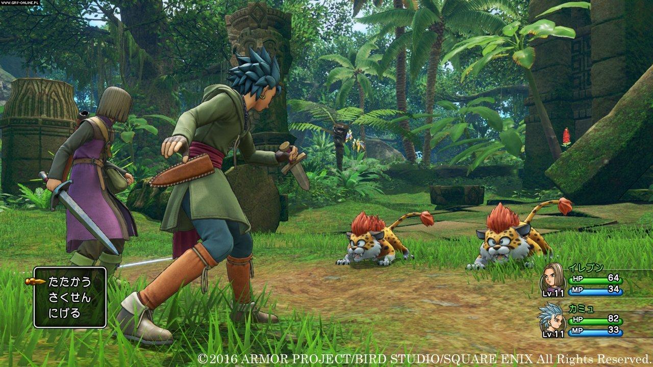 Картинки по запросу Dragon Quest XI: Echoes of an Elusive Age
