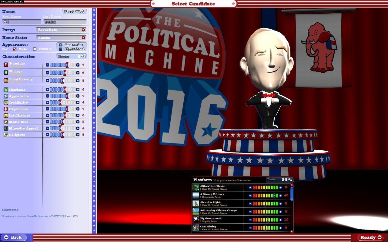 The Political Machine 2016 PC Games Image 10/10, Stardock Corporation