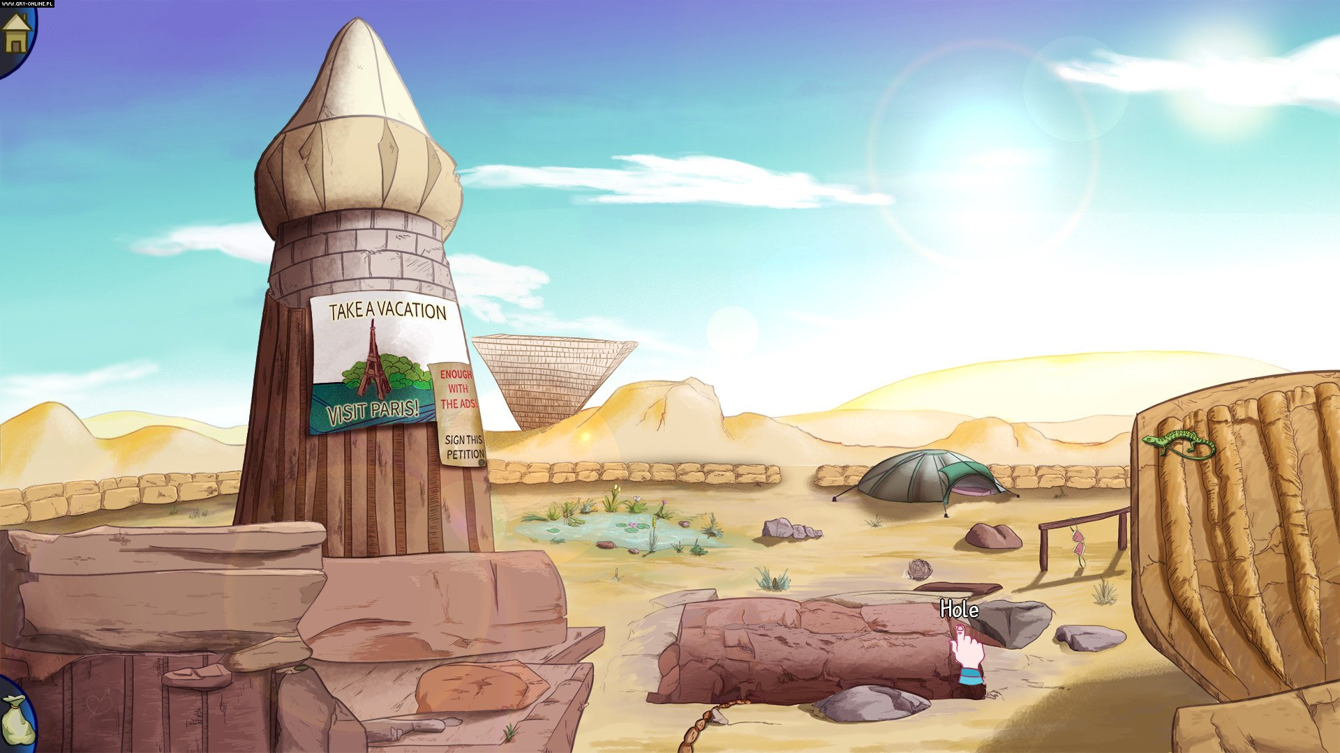 Demetrios: The BIG Cynical Adventure PC, PSV, PS4, XONE Games Image 10/10, COWCAT