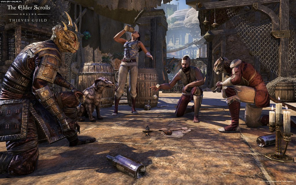 The Elder Scrolls Online: Thieves Guild PC, XONE, PS4 Games Image 5/5, ZeniMax Online Studios