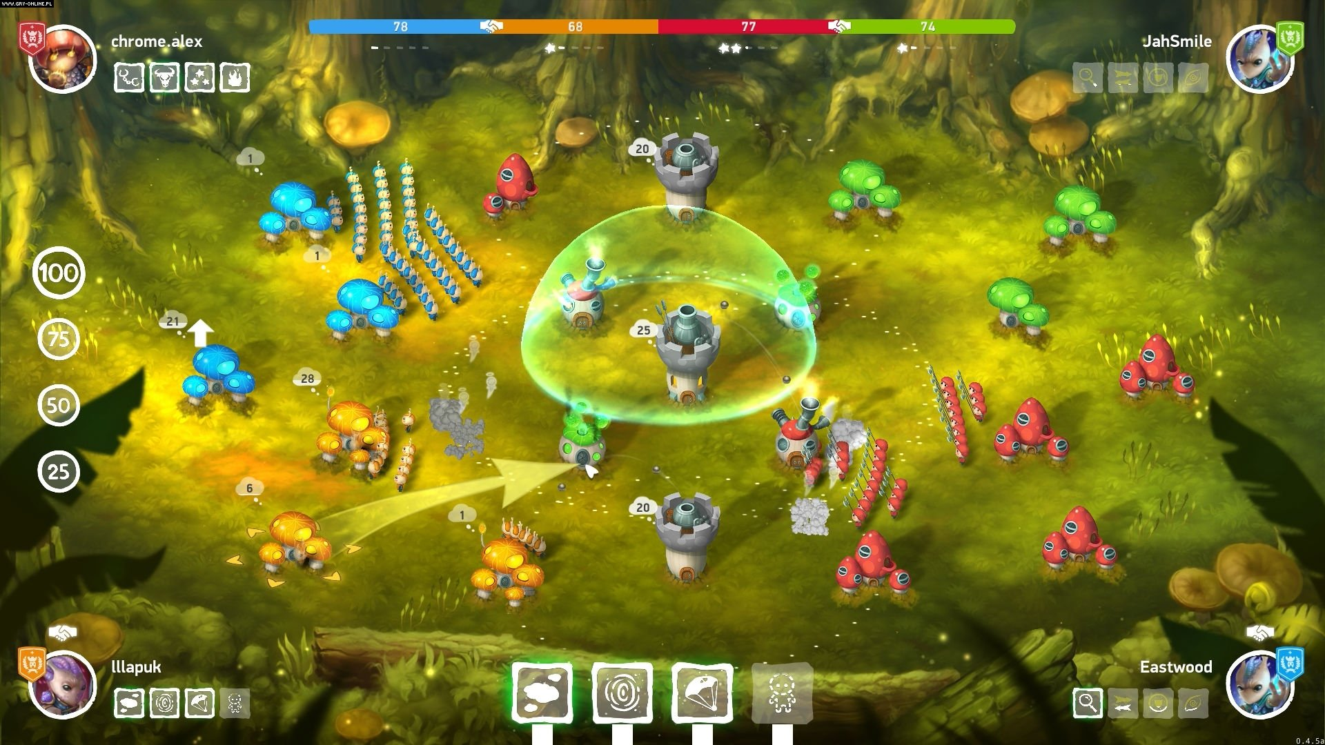Mushroom Wars 2 PC, XONE, PS4, iOS, AND Games Image 3/3, Creat Studio, Zillion Whales