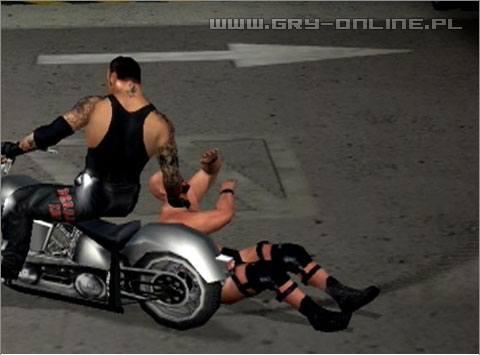 Risultati immagini per smackdown here comes the pain motorcycle