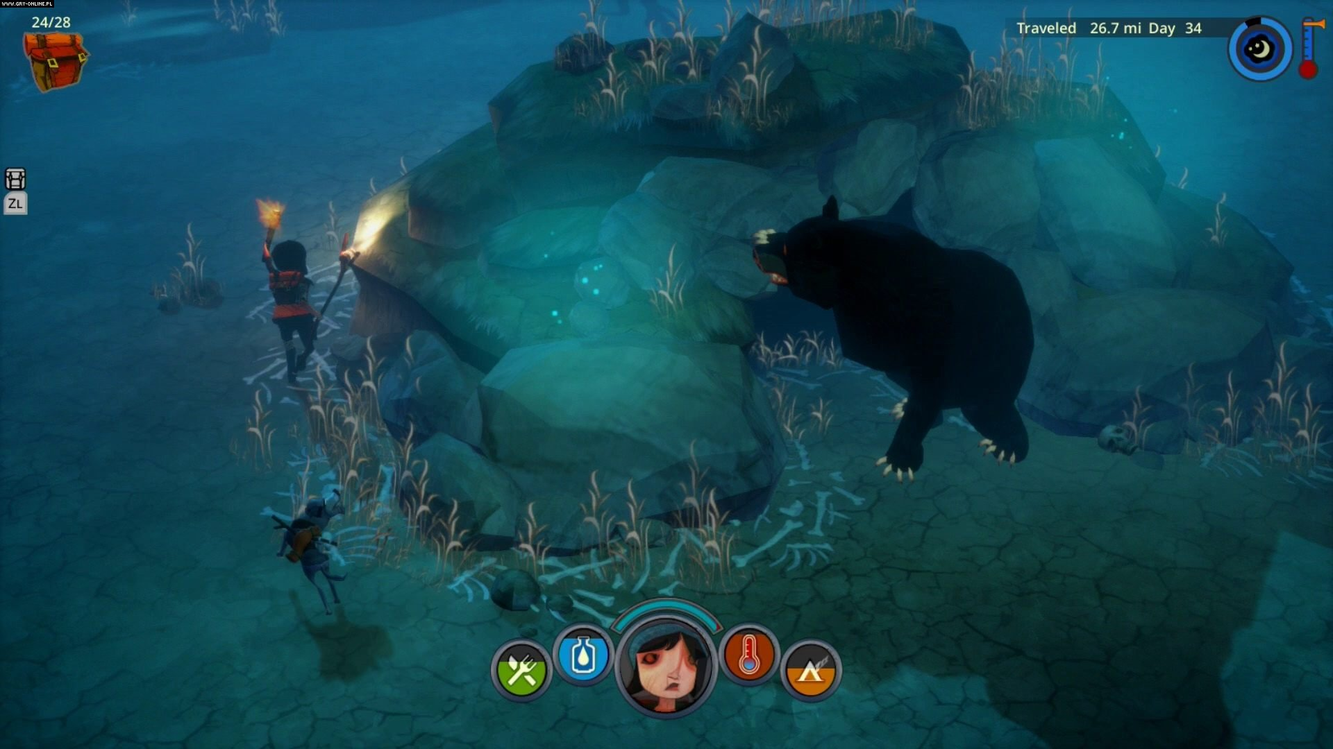The Flame in the Flood PC, PS4, XONE, Switch Games Image 6/29, The Molasses Flood
