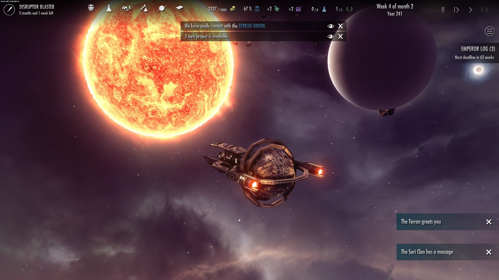 Dawn of Andromeda PC Games Image 9/24, Grey Wolf Entertainment, Iceberg Interactive