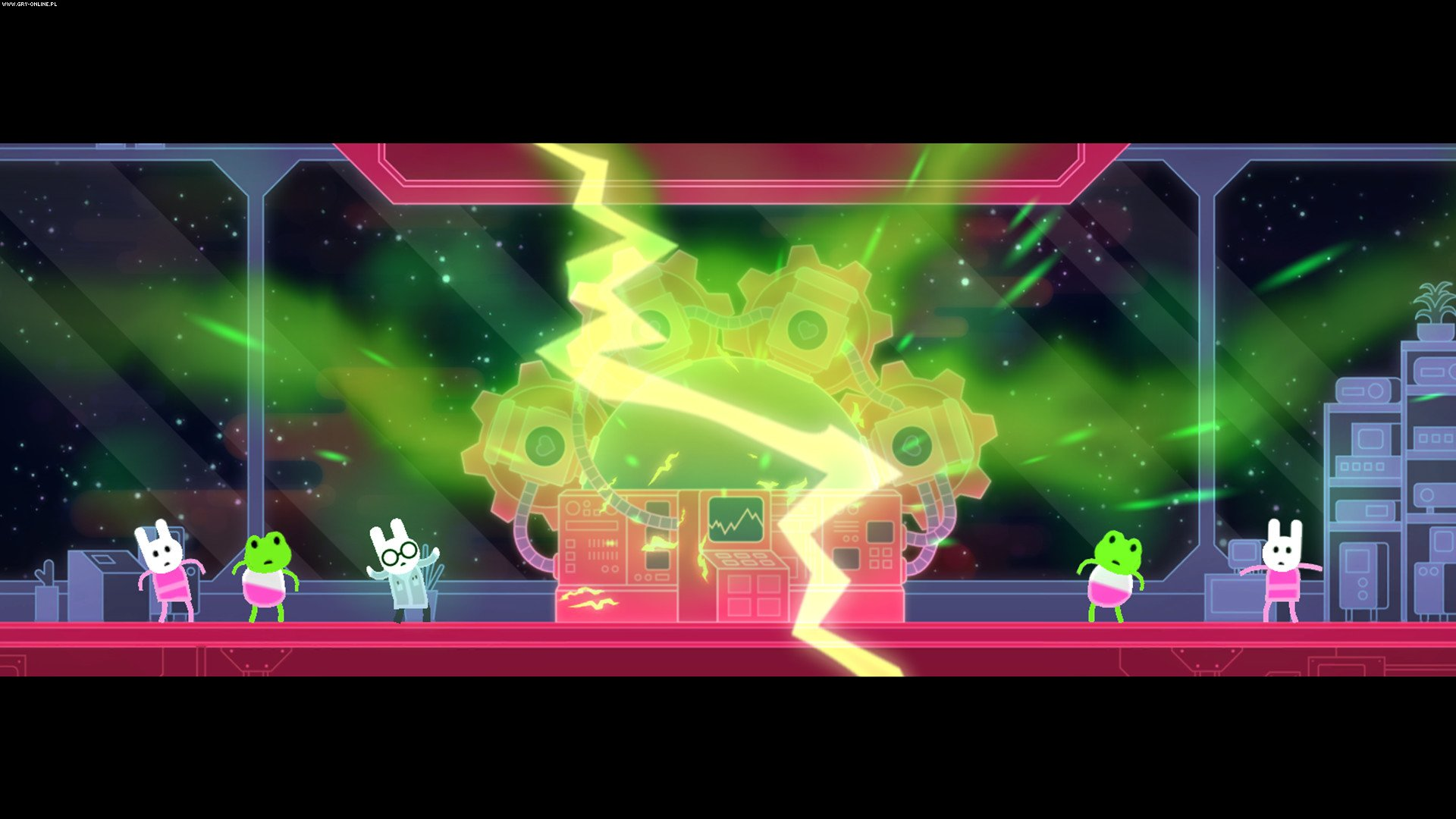 Lovers in a Dangerous Spacetime PC, PS4, XONE, Switch Games Image 1/10, Asteroid Base