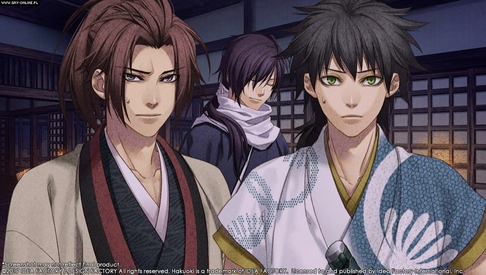 Hakuoki: Kyoto Winds PC, PSV Games Image 1/39, Idea Factory