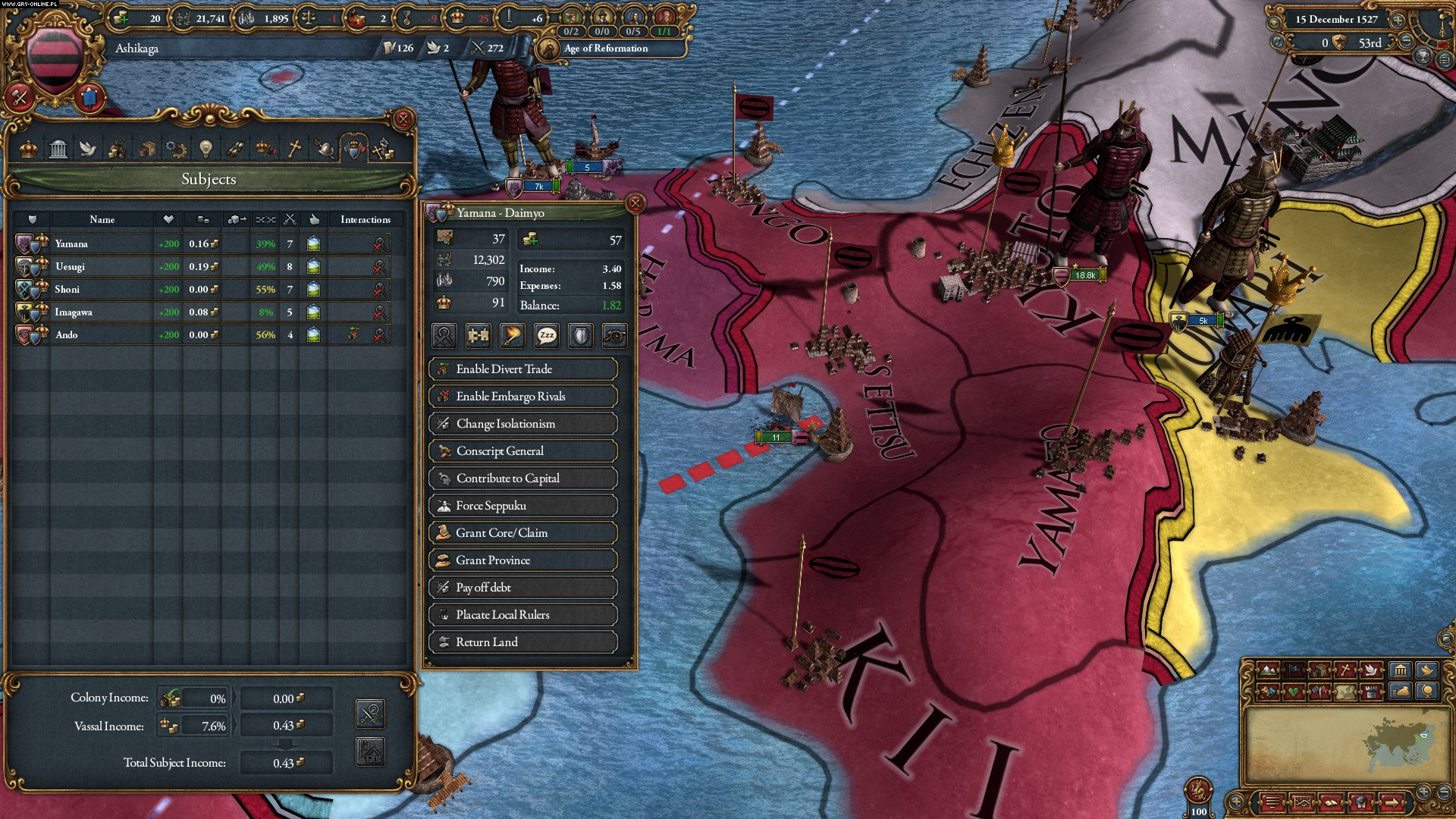 Europa Universalis IV: Mandate of Heaven PC Games Image 7/7, Paradox Development Studio, Paradox Interactive