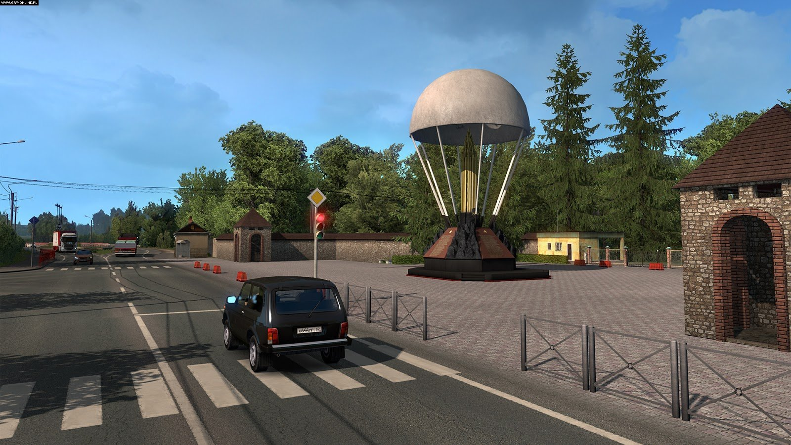 Euro Truck Simulator 2: Beyond the Baltic Sea PC Games Image 1/20, SCS Software