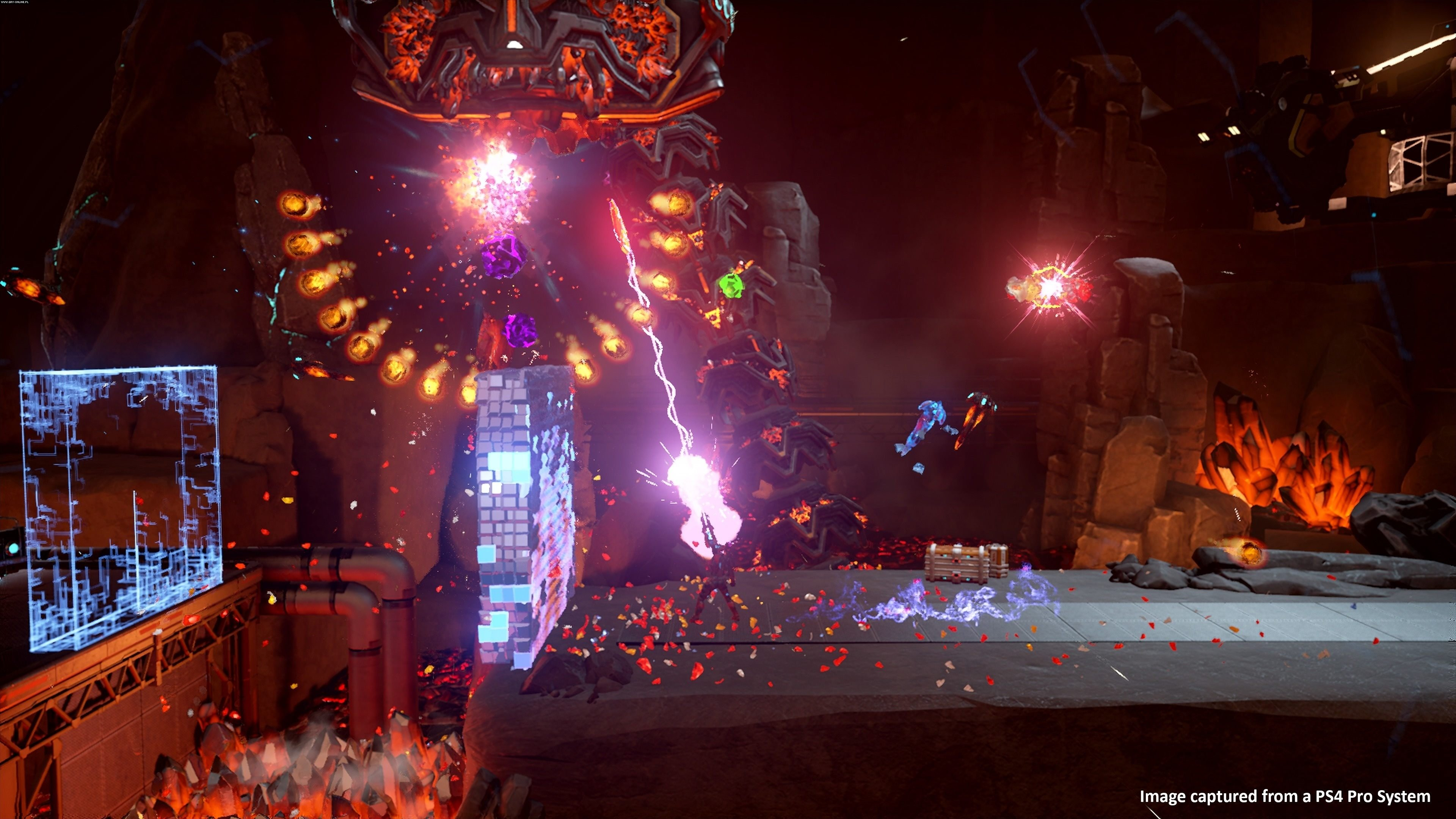 Matterfall PS4 Games Image 2/11, Housemarque, Sony Interactive Entertainment