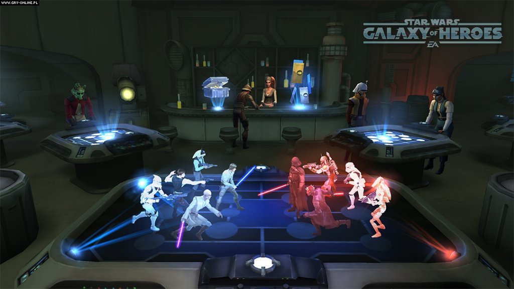 Star Wars: Galaxy of Heroes iOS, AND Games Image 10/14, EA Capital Games, Electronic Arts Inc.