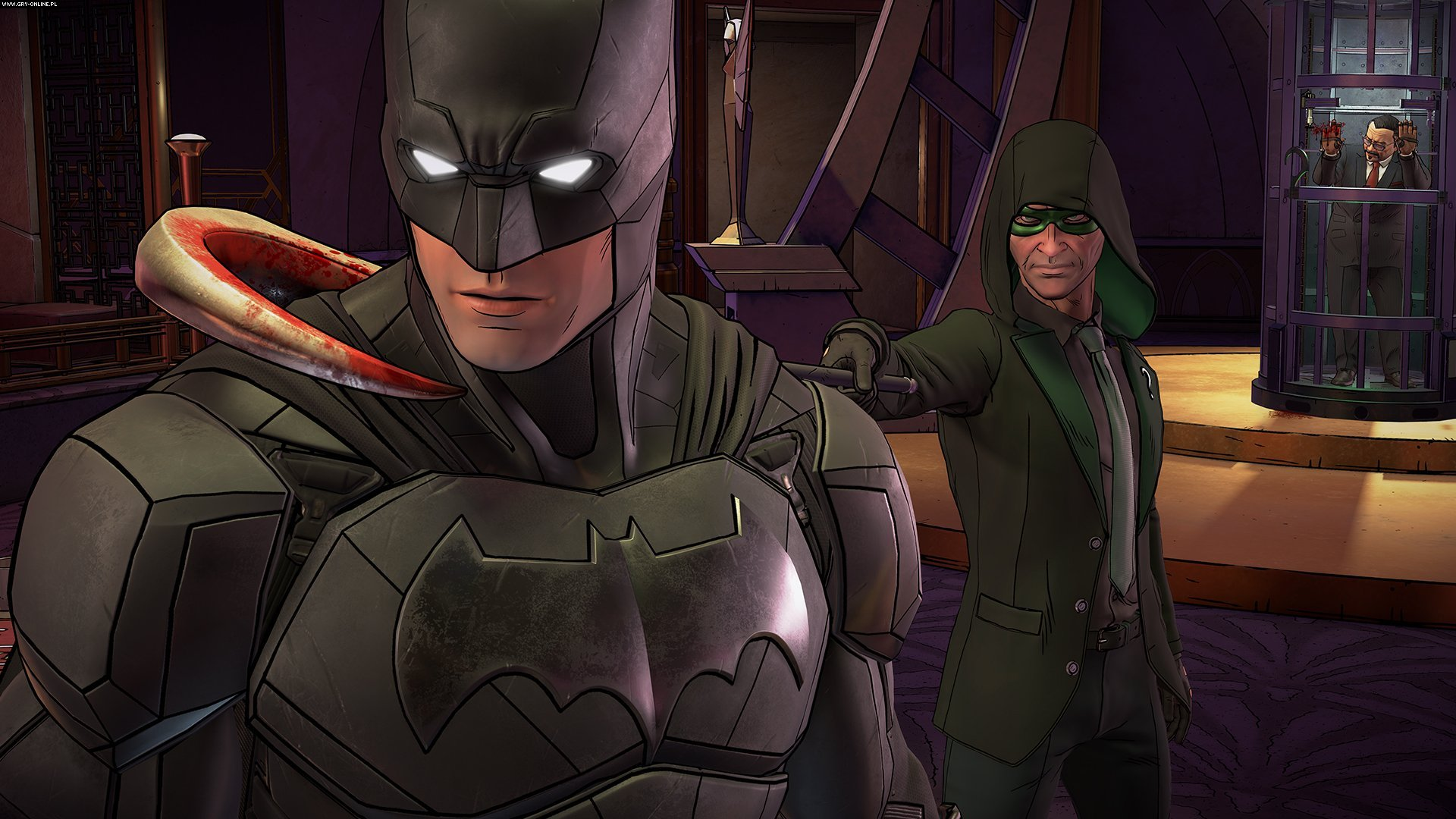 Batman: The Telltale Series - The Enemy Within PC, PS4, XONE, AND, iOS Games Image 24/29, Telltale Games