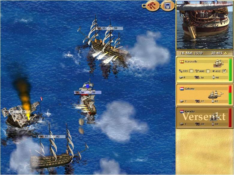 Tortuga: Age of Piracy - screenshots gallery - screenshot 1