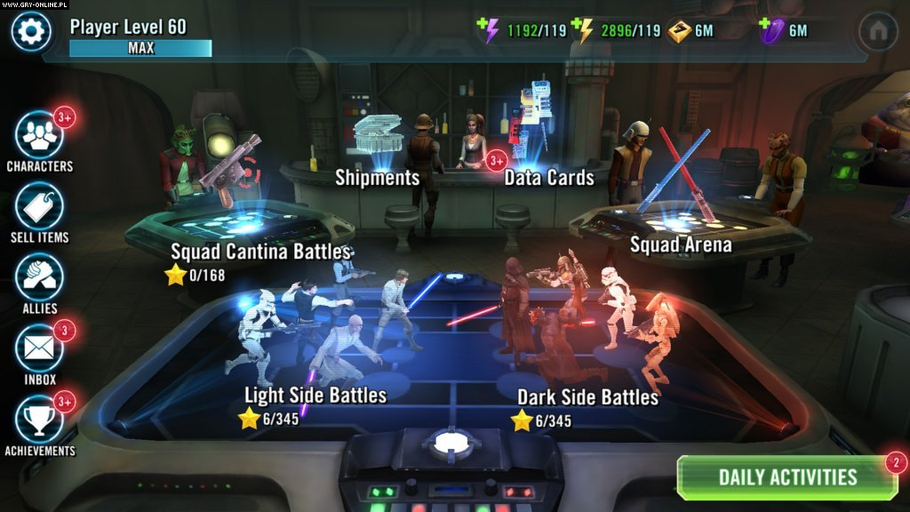 Star Wars: Galaxy of Heroes iOS, AND Games Image 6/14, EA Capital Games, Electronic Arts Inc.