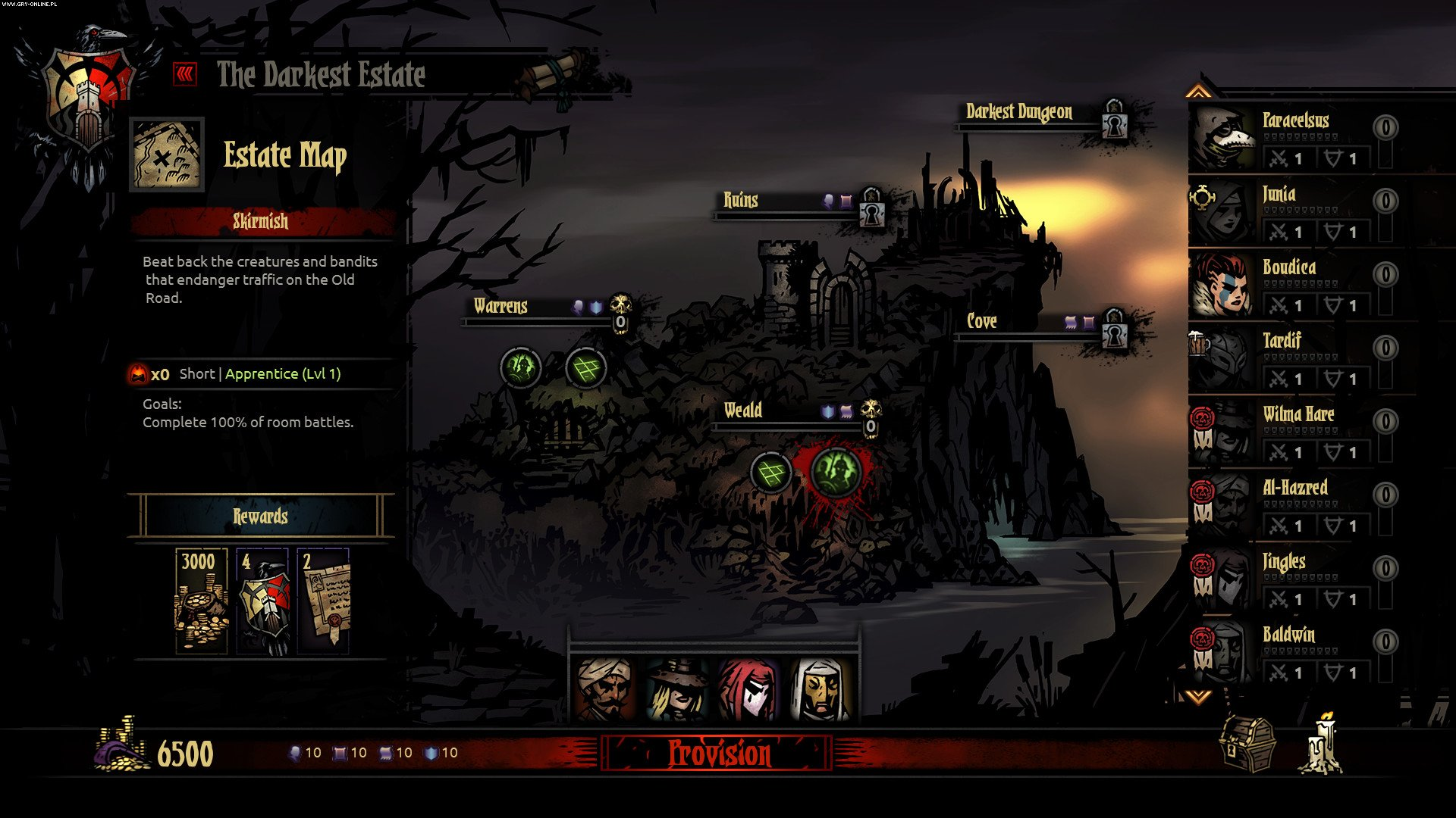 Darkest Dungeon PC, PSV, PS4 Games Image 88/108, Red Hook Studios