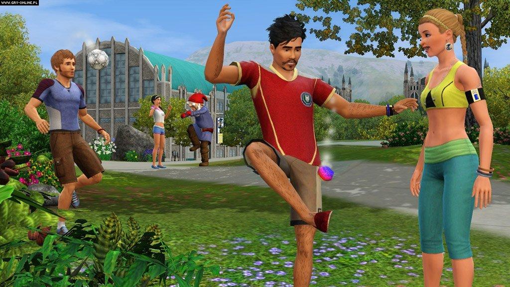 The Sims 3: Studenckie Życie / University Life (2013) - FLT Polska Wersja Językowa