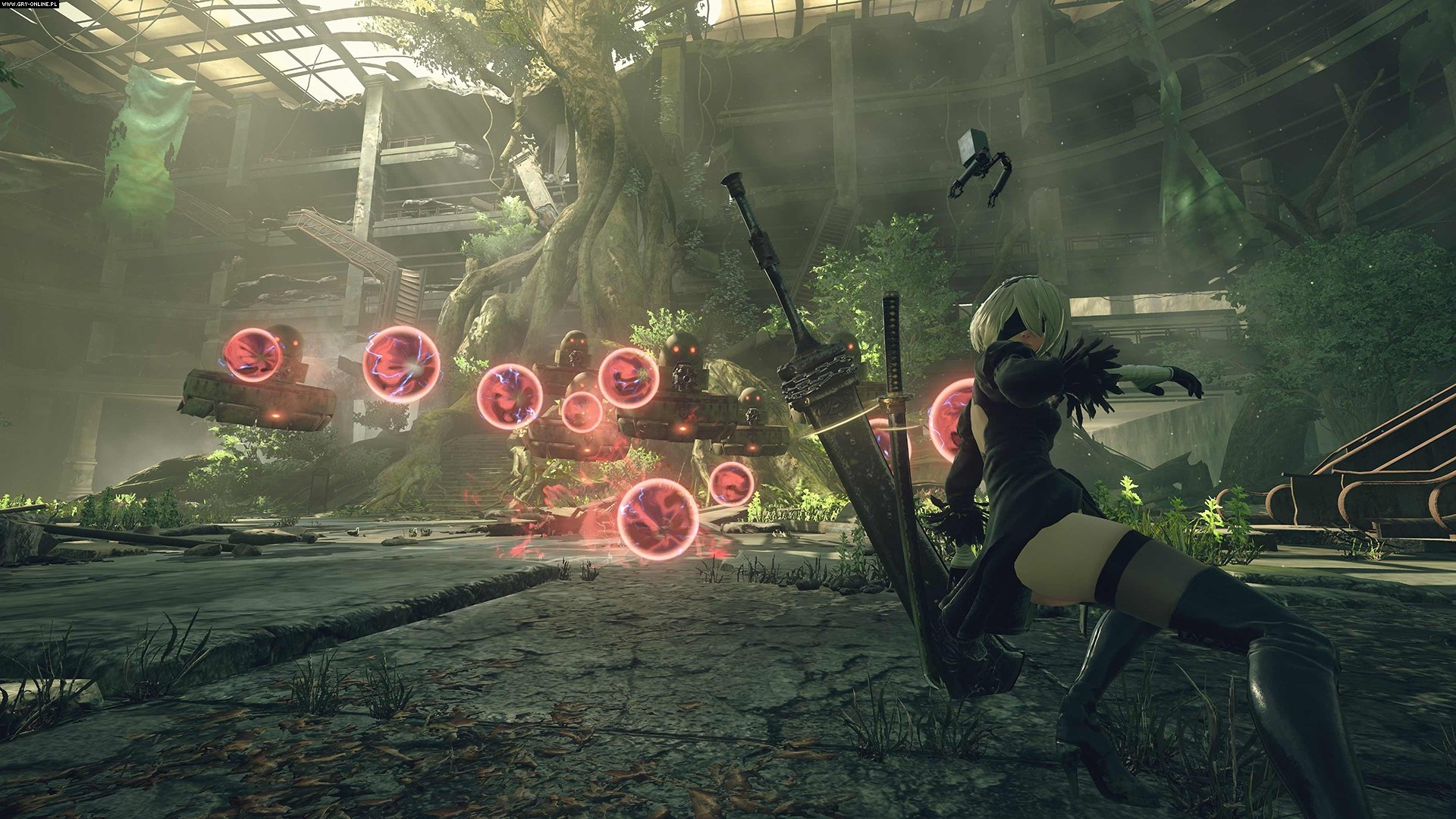Nier: Automata PC, PS4 Games Image 13/68, PlatinumGames, Square-Enix / Eidos