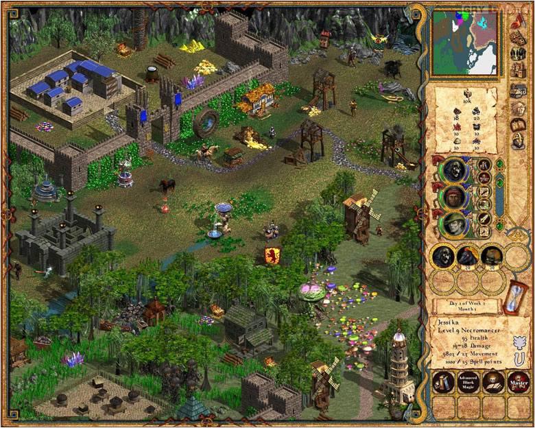 скачать игру Heroes Of Might And Magic 4 через торрент на русском - фото 8