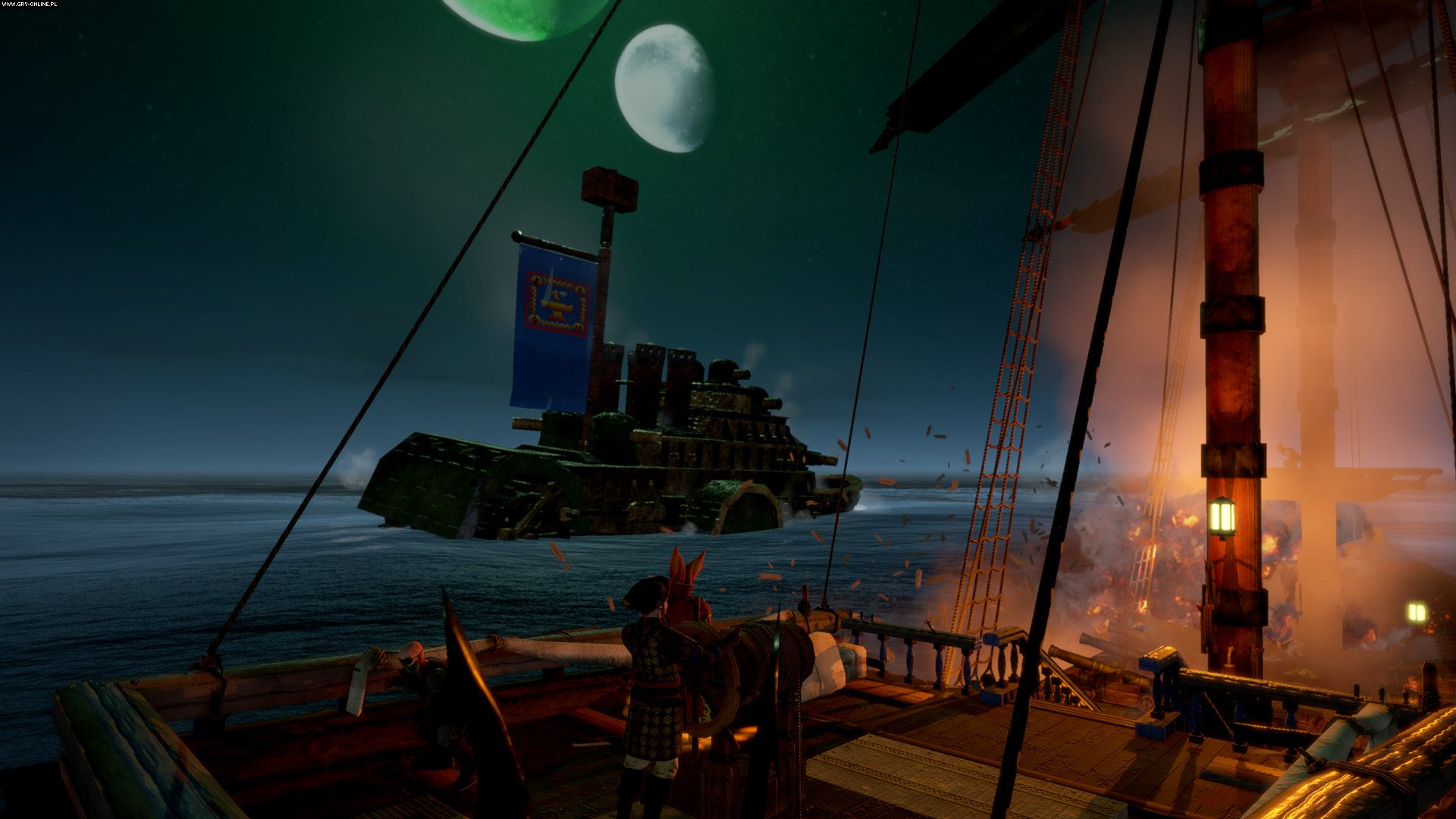 Man O' War: Corsair PC Games Image 9/51, Evil Twin Games