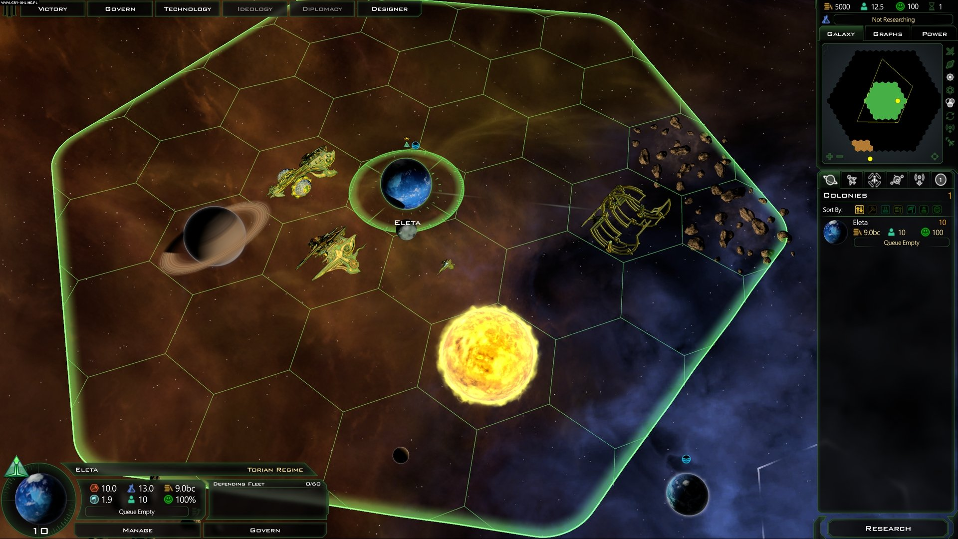 Galactic Civilizations III: Mercenaries PC Games Image 1/14, Stardock Corporation