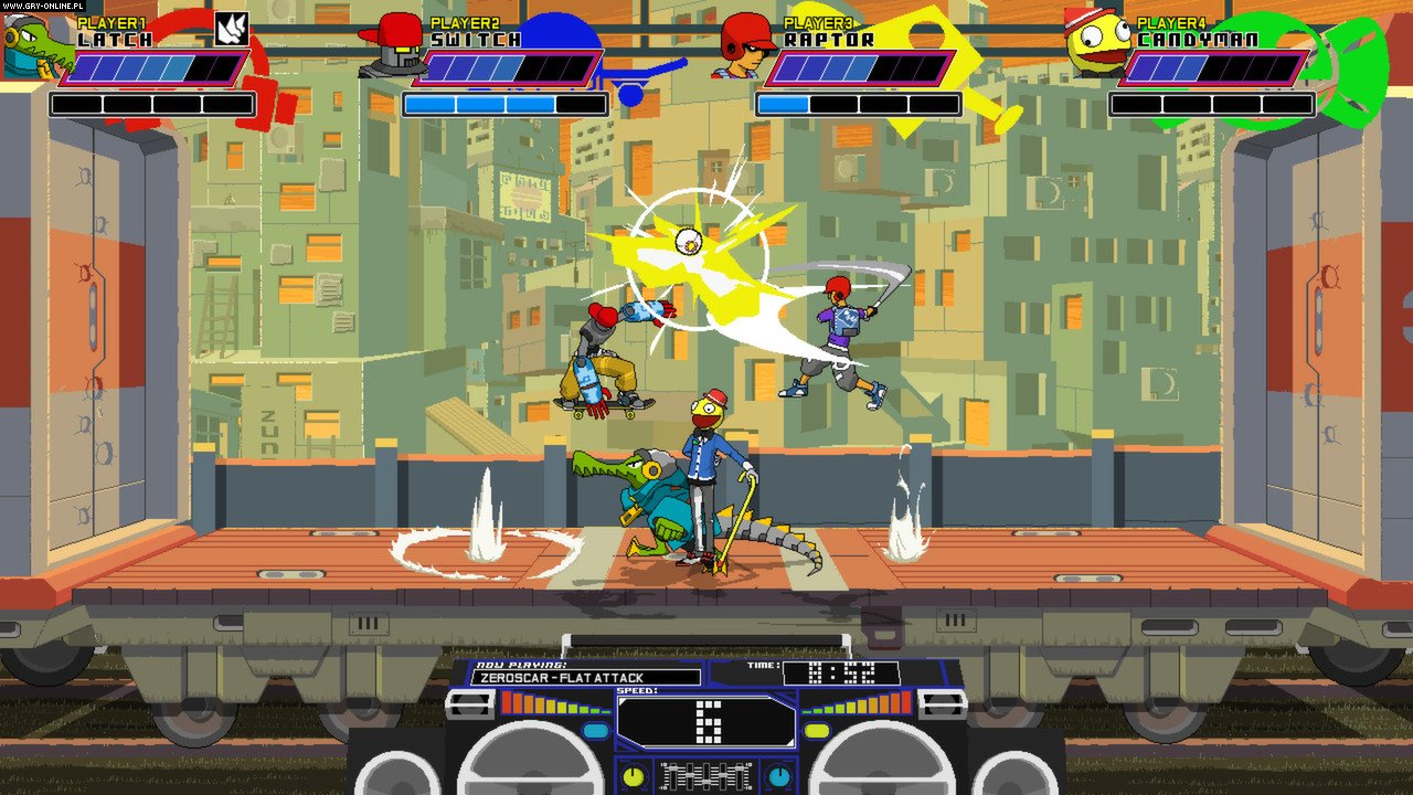 Lethal League PC, PS4, XONE Games Image 10/10, Team Reptile