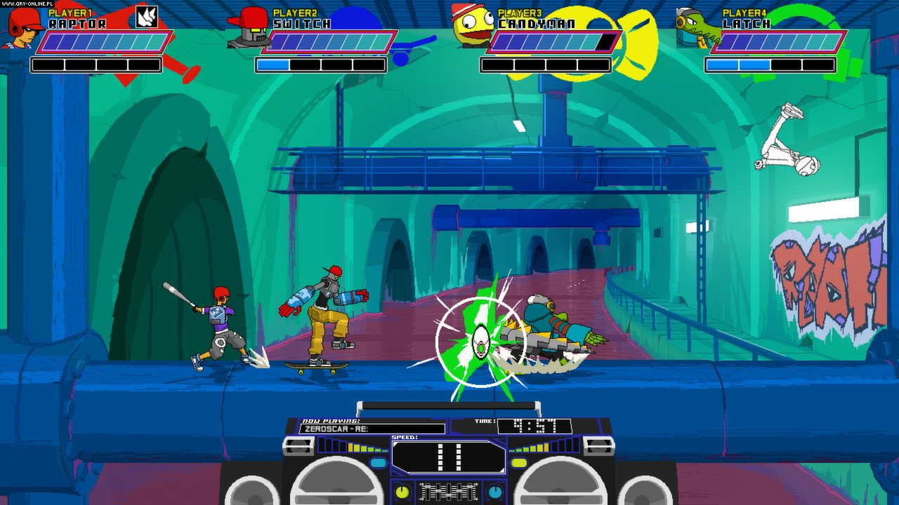 Lethal League PC, PS4, XONE Games Image 8/10, Team Reptile