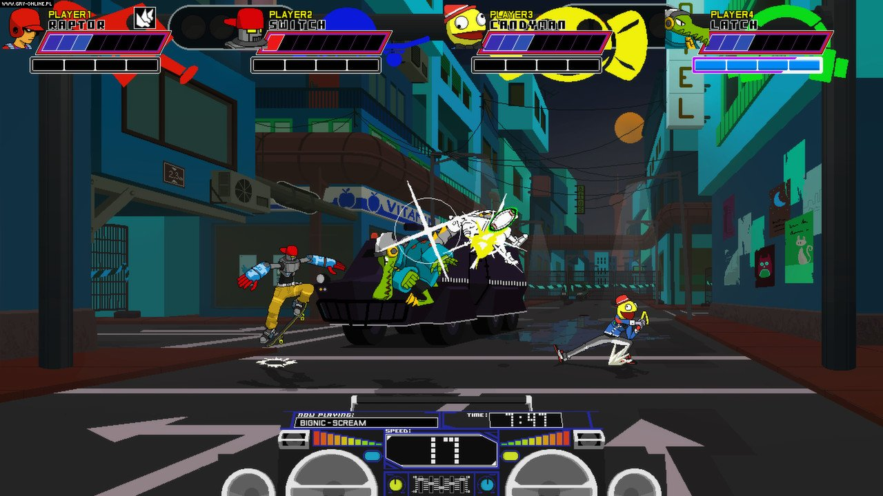 Lethal League PC, PS4, XONE Games Image 7/10, Team Reptile