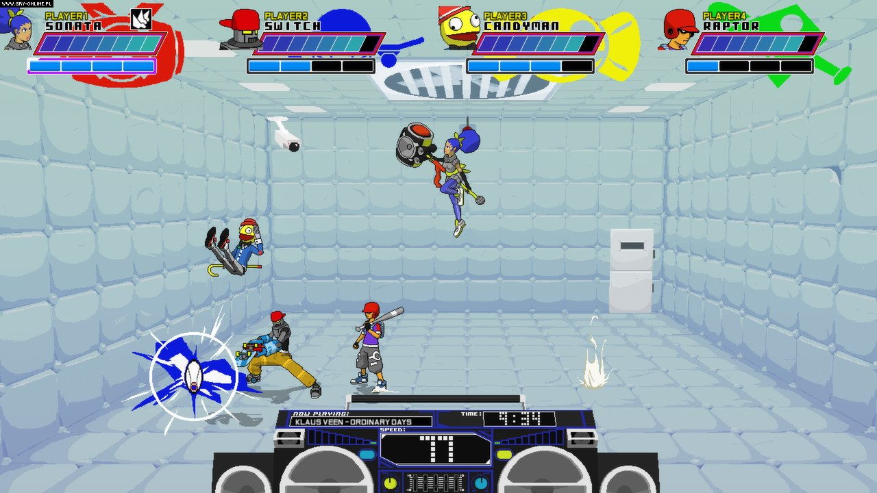 Lethal League PC, PS4, XONE Games Image 5/10, Team Reptile