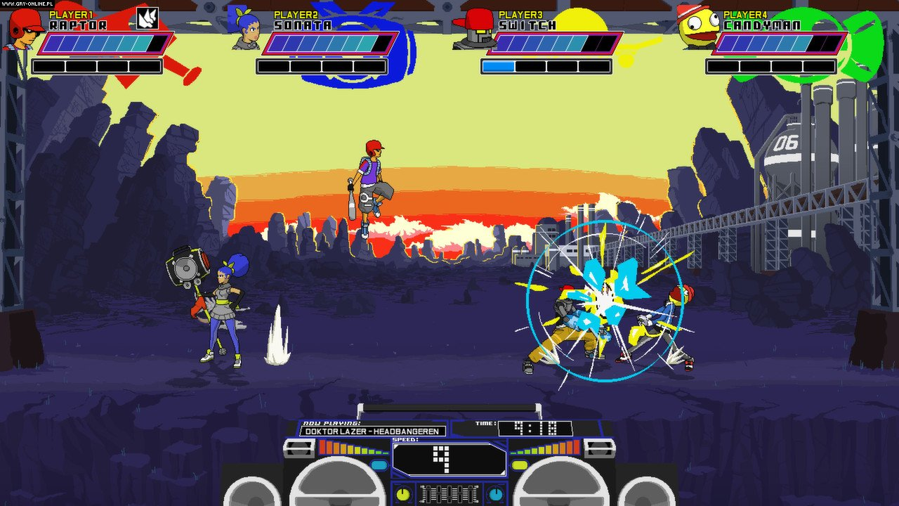 Lethal League PC, PS4, XONE Games Image 3/10, Team Reptile
