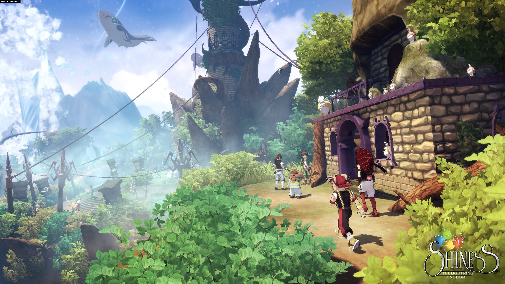 Shiness: The Lightning Kingdom XONE, PS4, PC, WiiU Games Image 1/12, Enigami, Focus Home Interactive