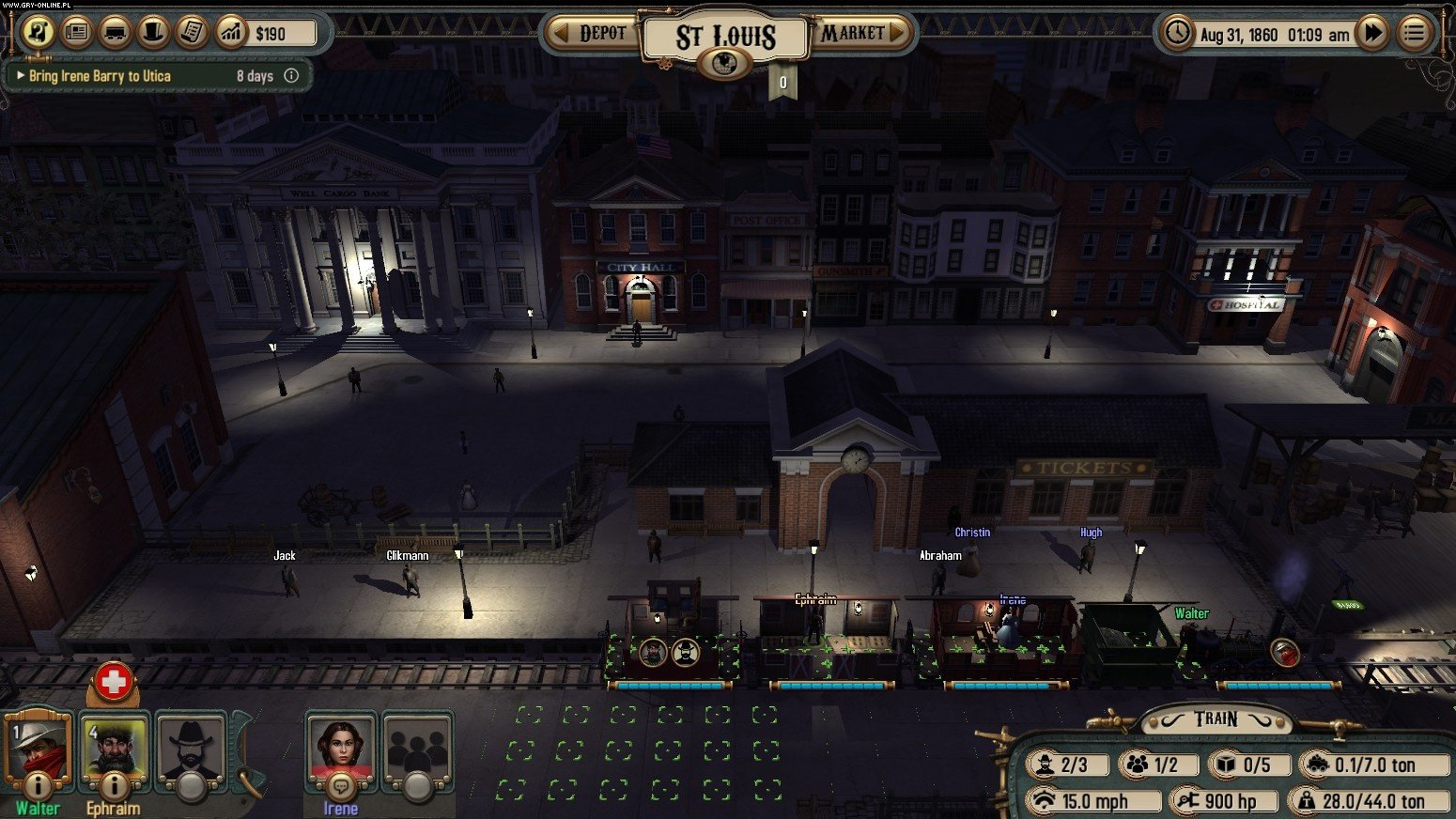 Bounty Train PC Games Image 4/26, Corbie Games, Daedalic Entertainment