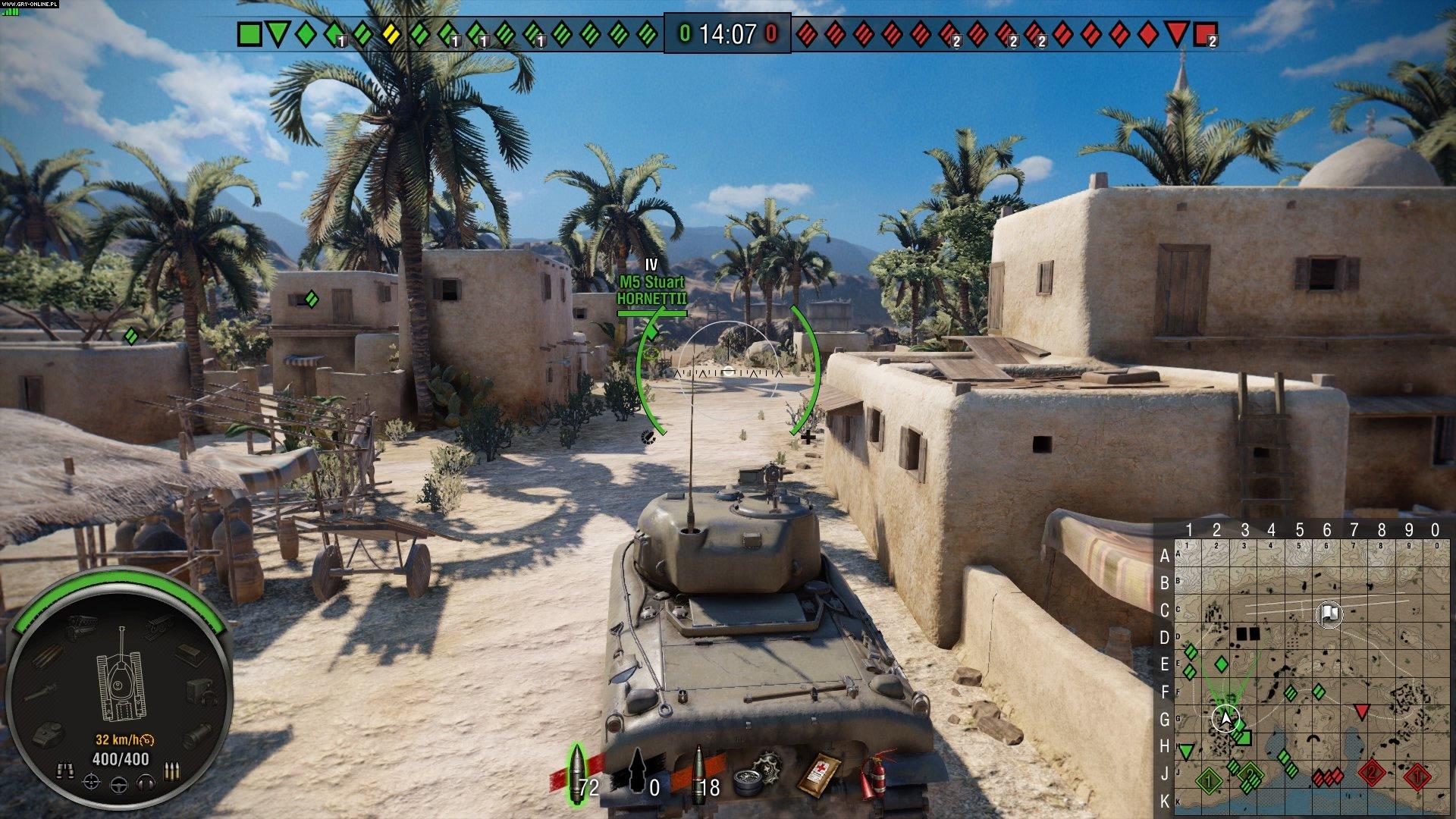 Recenzja gry World of Tanks na PlayStation 4 – konsolowym